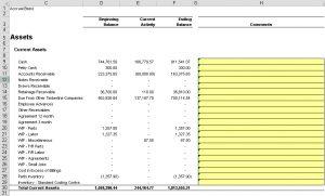 GLFSWC-Balance Sheet