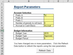 GLFSWC-Report Parameters